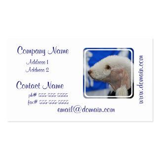 Tarjetas de visita de Bedlington Terrier