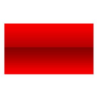 Tarjetas de visita de cristal rojas