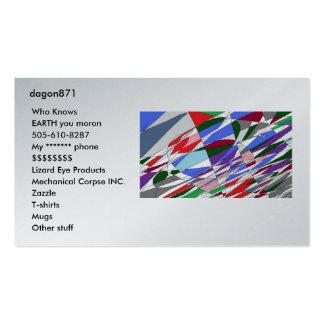 tarjetas de visita de dagon871