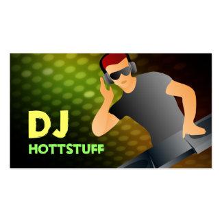 Tarjetas de visita de DJ del Redhead