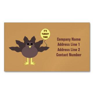 Tarjetas de visita de encargo de la acción de tarjetas de visita magnéticas (paquete de 25)