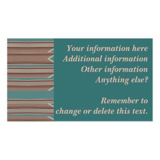 Tarjetas de visita de encargo de los cambios al
