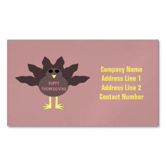 Tarjetas de visita de encargo desplumadas acción tarjetas de visita magnéticas (paquete de 25)