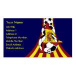 Tarjetas de visita de Fútbol del fútbol de Espana