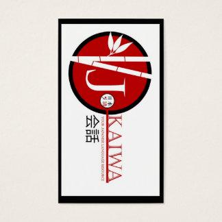 Tarjetas de visita de JKaiwa para Jay