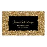 Tarjetas de visita de la elegancia del oro del bri