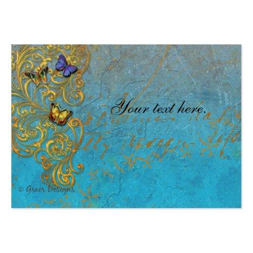 Tarjetas de visita de la fantasía/tarjetas del lug