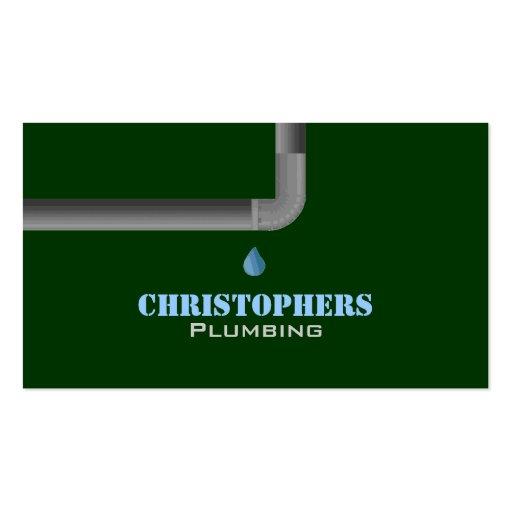 Tarjetas de visita de la fontanería