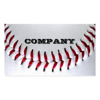 Tarjetas de visita de la foto del béisbol