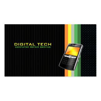 Tarjetas de visita de la tecnología de Digitaces