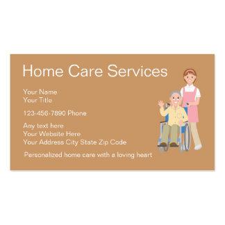 Tarjetas de visita de las asistencias sanitarias a