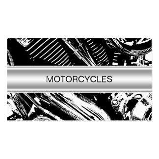 Tarjetas de visita de las motocicletas