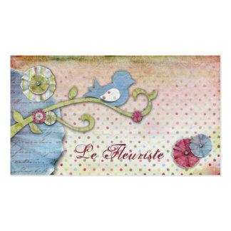 Tarjetas de visita de Le Fleuriste