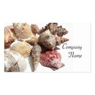 Tarjetas de visita de los Seashells