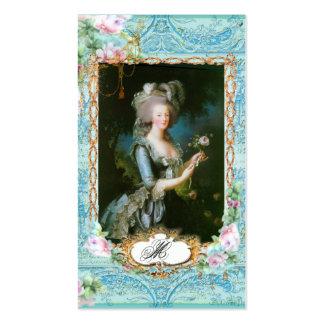 Tarjetas de visita de Marie Antonieta