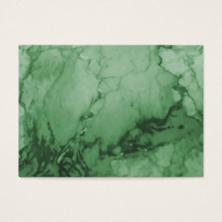 Tarjetas de visita de mármol verdes elegantes