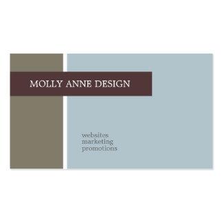 Tarjetas de visita de Molly Anne