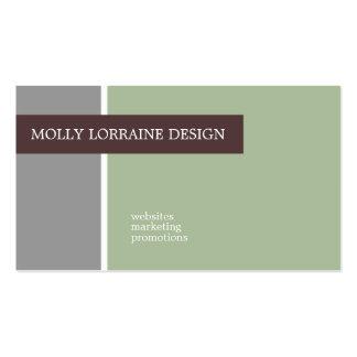 Tarjetas de visita de Molly Lorena