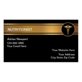 Tarjetas de visita de Nutriotionist
