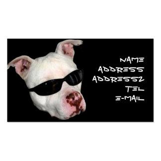 Tarjetas de visita de Pitbull