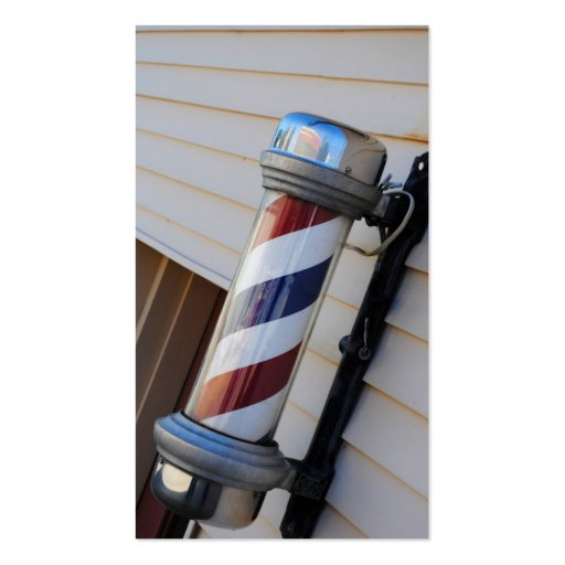 Tarjetas de visita de poste de la peluquería de ca