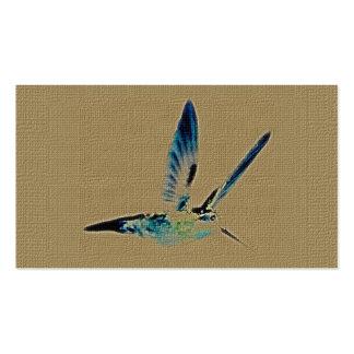 Tarjetas de visita de rey Customizable del colibrí