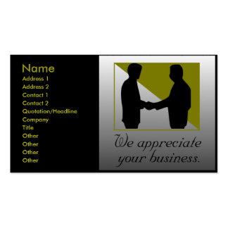 Tarjetas de visita de servicios profesionales