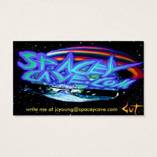 tarjetas de visita de SpaceyCave.com
