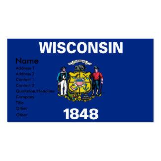 Tarjetas de visita de WISCONSIN