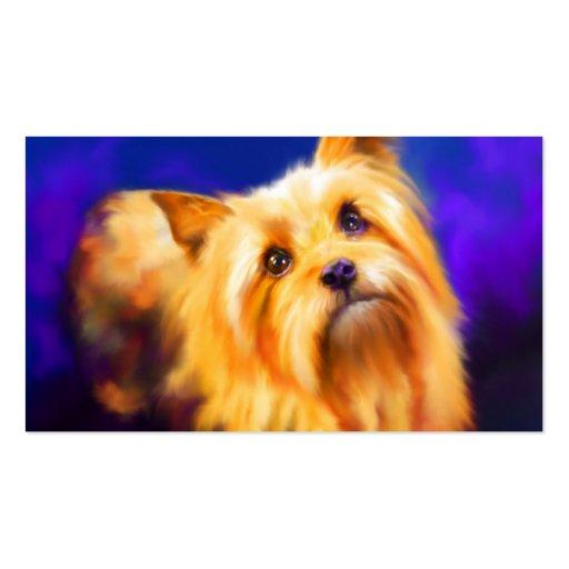 Tarjetas de visita de Yorkshire Terrier