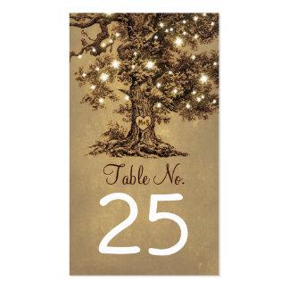 tarjetas de visita del árbol del cr