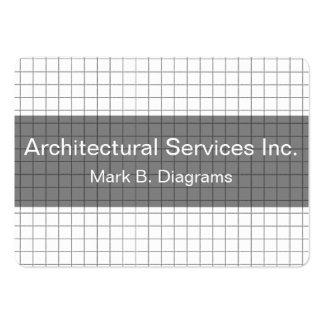 Tarjetas de visita del arquitecto