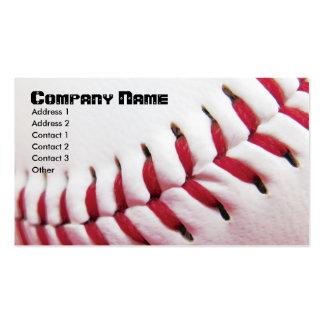 Tarjetas de visita del béisbol