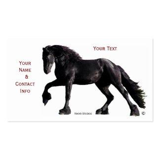 Tarjetas de visita del caballo