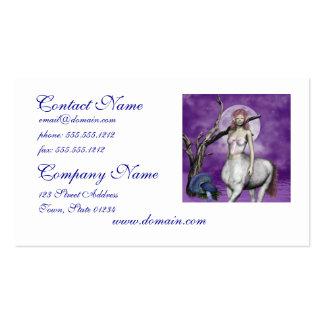 Tarjetas de visita del Centaur de Etheral