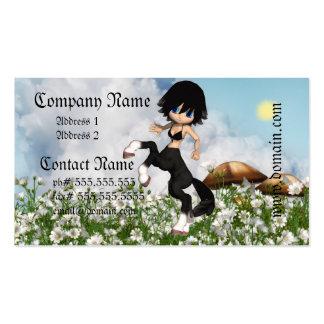 Tarjetas de visita del Centaur que se divierten