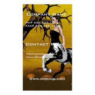 Tarjetas de visita del Centaur