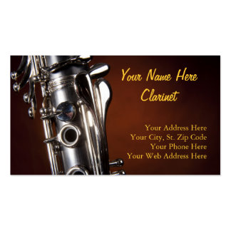 Tarjetas de visita del Clarinet