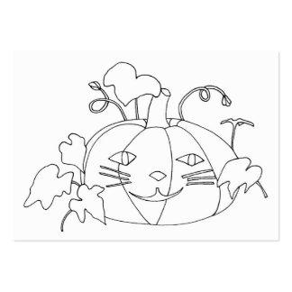 Tarjetas de visita del colorante del dibujo de