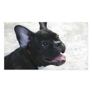 Tarjetas de visita del dogo francés