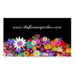 Tarjetas de visita del florista