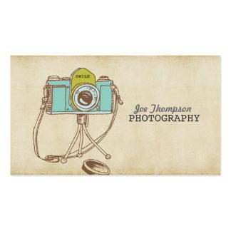 Tarjetas de visita del fotógrafo del arte de la cá