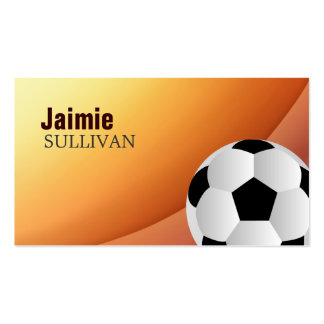 Tarjetas de visita del fútbol