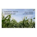 Tarjetas de visita del granjero del maíz