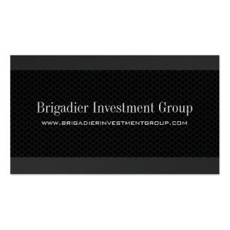 Tarjetas de visita del inversor