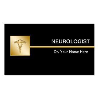Tarjetas de visita del neurólogo