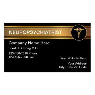 Tarjetas de visita del Neuropsychiatrist