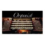 Tarjetas de visita del organista - en su servicio