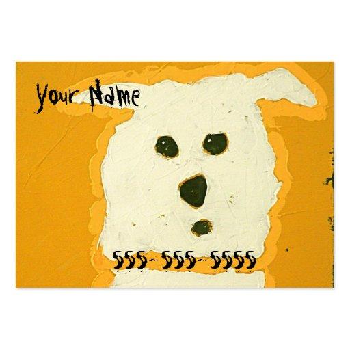 tarjetas de visita del perro