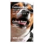 Tarjetas de visita del perro de la chihuahua